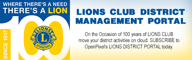 Lions District Portal